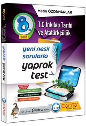 8.Sınıf Yaprak Test Tc.İnkılap Tarihi ve Atatürkç