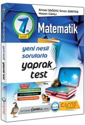 7.Sınıf Yaprak Test Matematik 2019 14,90