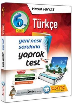 6.Sınıf Yaprak Test Türkçe 2019 - 14,90