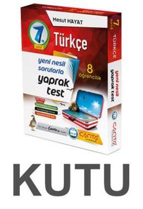 7.Sınıf Kutu Yaprak Test Türkçe 109,90