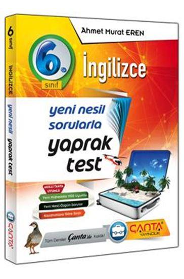 6.Sınıf Yaprak Test İngilizce 2019 - 12,90