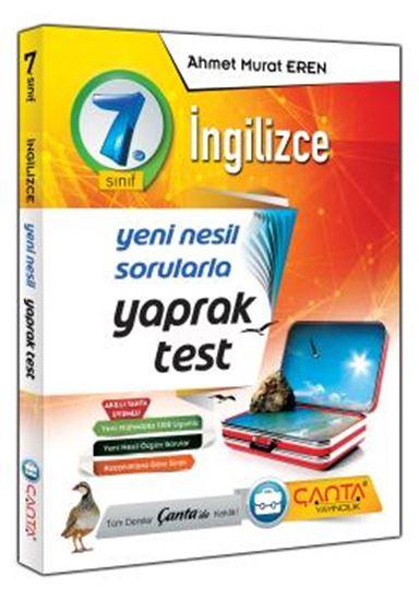 7.Sınıf Yaprak Test İngilizce 2019 - 12,90