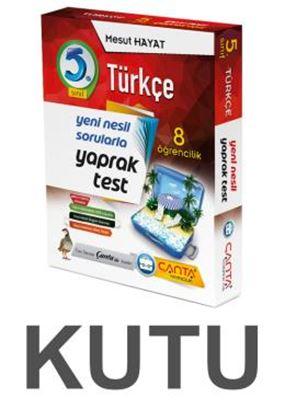 5.Sınıf. Kutu Yaprak Test Türkçe 109,90