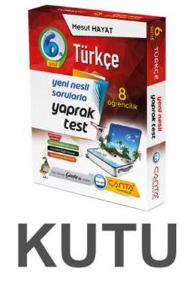 6.Sınıf Kutu Yaprak Test Türkçe 109,90