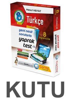 8.Sınıf Kutu Yaprak Test Türkçe 109,90