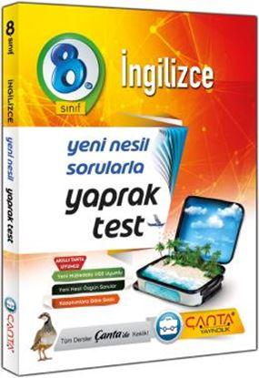 8.Sınıf Yaprak Test İngilizce 2019 - 12,90