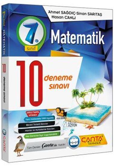 7. Sınıf Deneme 10 Matematik 2019 -14.90
