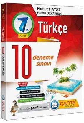 7. Sınıf Deneme 10 Türkçe 2019 -14.90